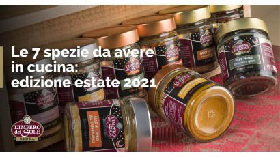 Le 7 spezie da avere in cucina: edizione estate 2021